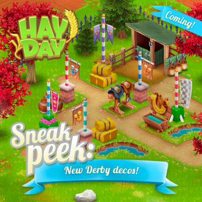 Sneak peek nouvelle decoration derby