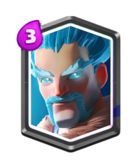 Sorcier de glace carte legendaire clash royale