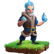 Sorcier de glace troupe clash of clans sneak peek cadeau noel