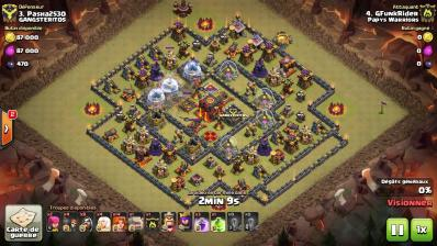 Sort sismique gowiva hdv 10 guide clash of clans francais