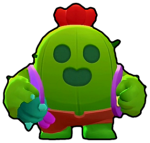 Spike cactus brawl stars personnage 1