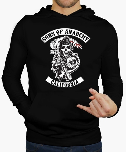 Sweat capuche sons of anarchy