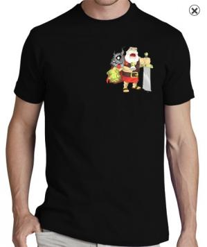 T shirt perso papys warriors clash of clans face