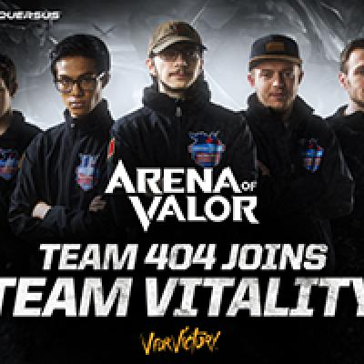 Team vitality 404 arena of valor