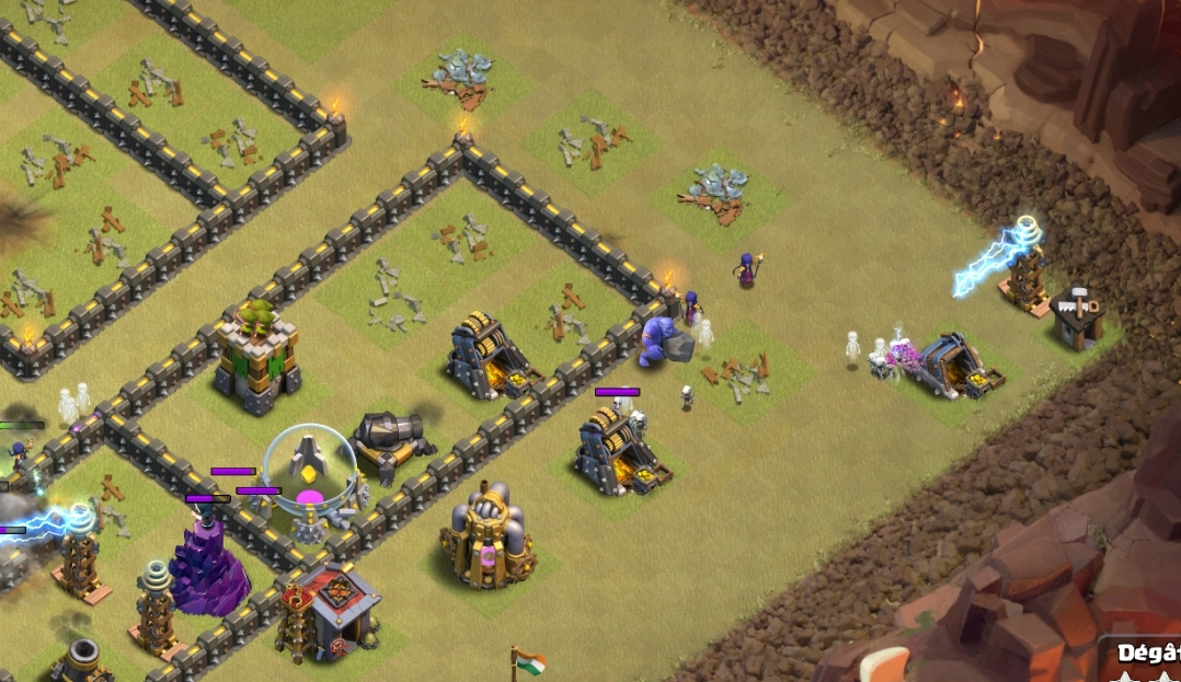 Tesla Camouflée Guide complet Tesla-coin-map-exemple-astuce-clash-of-clans