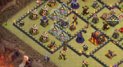 Tesla devier troupe exemple astuce clash of clans