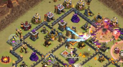 Tesla farm exemple astuce clash of clans