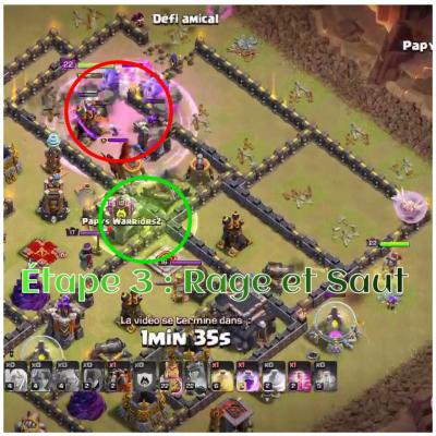 Tham smash clash of clans etape 3