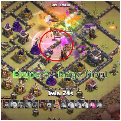 Tham smash clash of clans etape 5