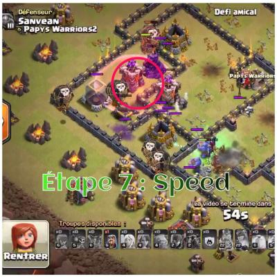 Tham smash clash of clans etape 7