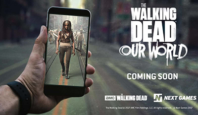 The walking dead our world sortie michonne blog