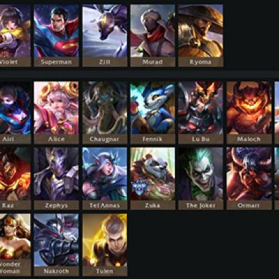 Tier list 5v5 tulen patch arena of valor blog