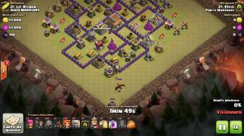 Troupes chateau clan dragon sortir clash of clans