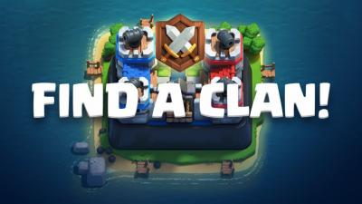 Trouver un clan clash royale