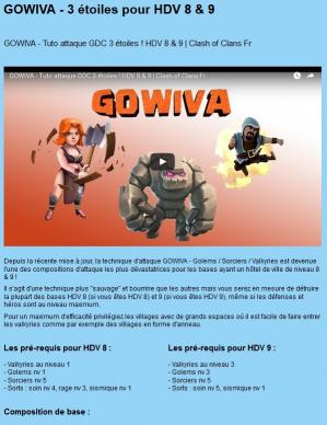 Tuto gowiva hdv 8 et 9 promo video youtube papys warriors