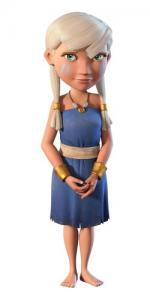 Villageoise personnage boom beach