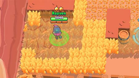 Vision bush brawl stars blog
