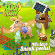 We love sneak peeks hay day octobre 2017