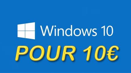 Windows 10 clef activation 10 euros