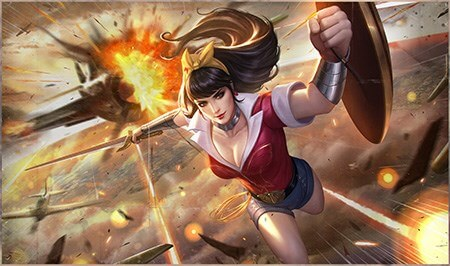 Wonder woman skin bombe aov blog